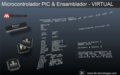 Microcontrolador PIC & Ensamblador